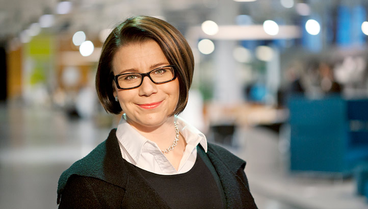 Anna-Kaisa Packalen, Accountor